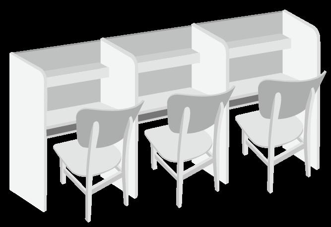 個人專屬K書桌